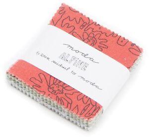 Alpine-Moda-Mini-Charm-Pack-42-100-Cotton-2-5-034-Precut-Fabric-Squares