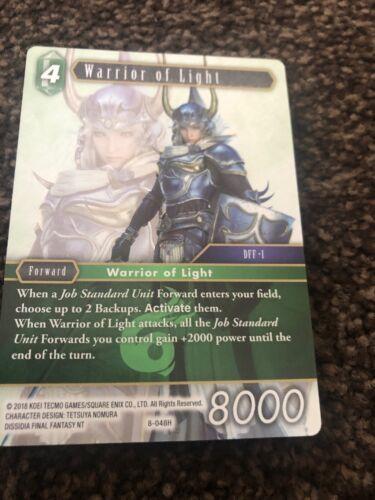 Warrior Of Light 8-048H Opus 8 Final Fantasy