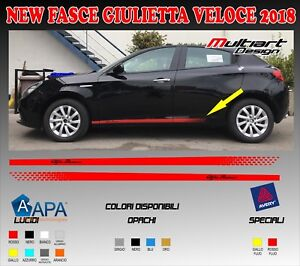 Nero Lucido Mito Giulietta,Giulia Stickers Multiart Design Adesivi per Calotte SPECCHIETTI Alfa Romeo 159,147