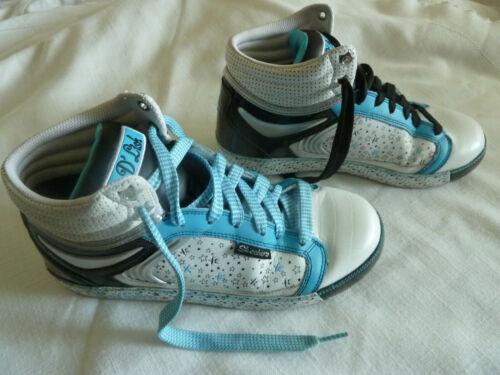 Skechers Womens 8 D'Lish Stars White/Blue/Black H