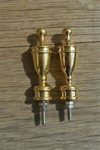 Superb quality antique large brass furniture clock finial vase shape finial Z9