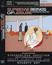 DVD: SUPREME BEINGS OF LEISURE Strangelove Addiction (2000 U.S. 4 Track Single)