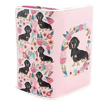 Sleepyville Dachshund Puppy Dog Wallet for Bag Handbag Purse