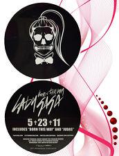 Lady GaGa Born This Way 2011 NEW Promo Sticker *RARE* NOS