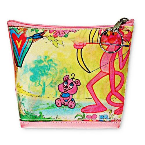 Pink Panther Baby Cartoon Cat Flip Lenticular Universal Purse Bag #RC-801-PAVIA#
