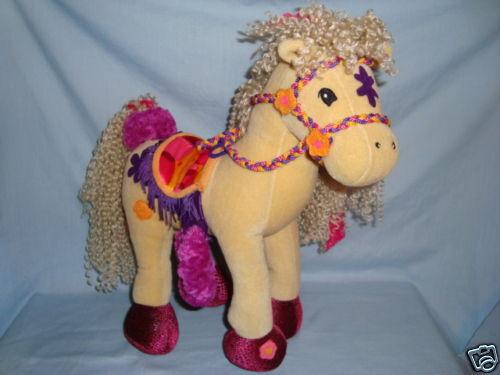 Groovy Girls Horse Calypso bendable poseable legs