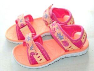 Dinámica Maduro tristeza  Clarks Doodles baby girl pink/orange sandals infants 4/20 - 8.5/26 F RRP  £22 | eBay