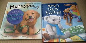 Benji-039-s-New-Friends-amp-Muddy-Paws-2-Great-Children-039-s-Hardback-Books