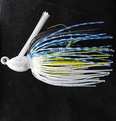 Bob4Bass Grass Jig Skirted Gizzard Shad US034