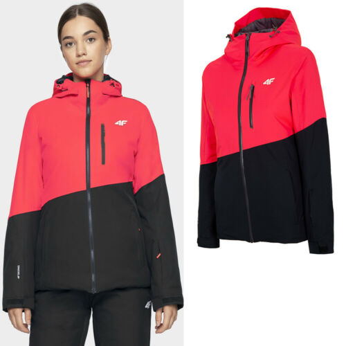 Hive Outdoor 4f Donna Giacca Giacca Sci Inverno Giacca Snowboard Giacca Impermeabile