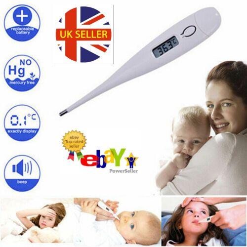 Termómetro Digital LCD Médico bebé adulto cuerpo Niños Seguro oreja Boca De Temperatura