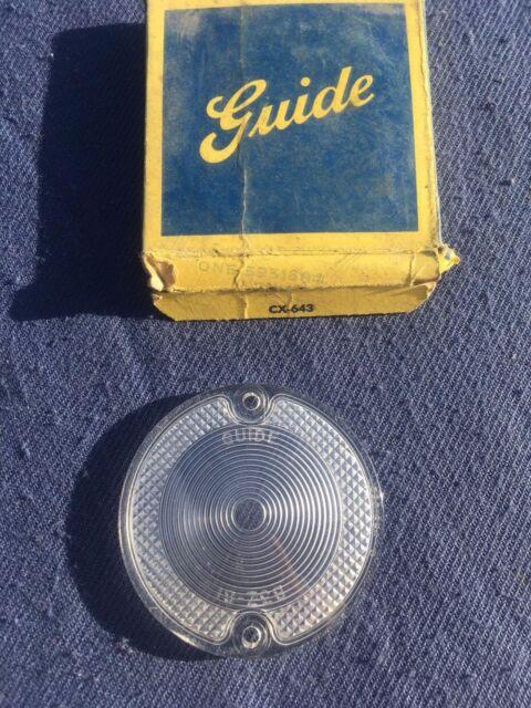 NOS 1961 Oldsmobile F85 Cutlass Deluxe Standard Backup Light Lamp Lens Pair