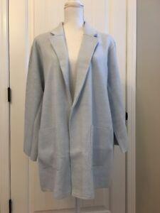New J Crew New Lightweight Sweater Blazer Classic Sky Sz Xs J0244 Ebay