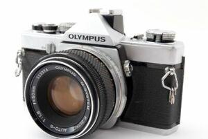 EXCELLENT-Olympus-m-1-35mm-Spiegelreflexkamera-mit-M-System-50mm-f-1-8-Lens-aus-Japan