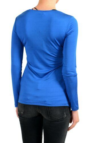 Xl Jeans Taille Pour Haut Bleu Versace Longues À Femmes S Manches M npx1qnwH6S