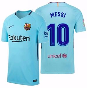 huge discount a6d61 797df Details about NIKE LIONEL MESSI FC BARCELONA AWAY JERSEY 2017/18.