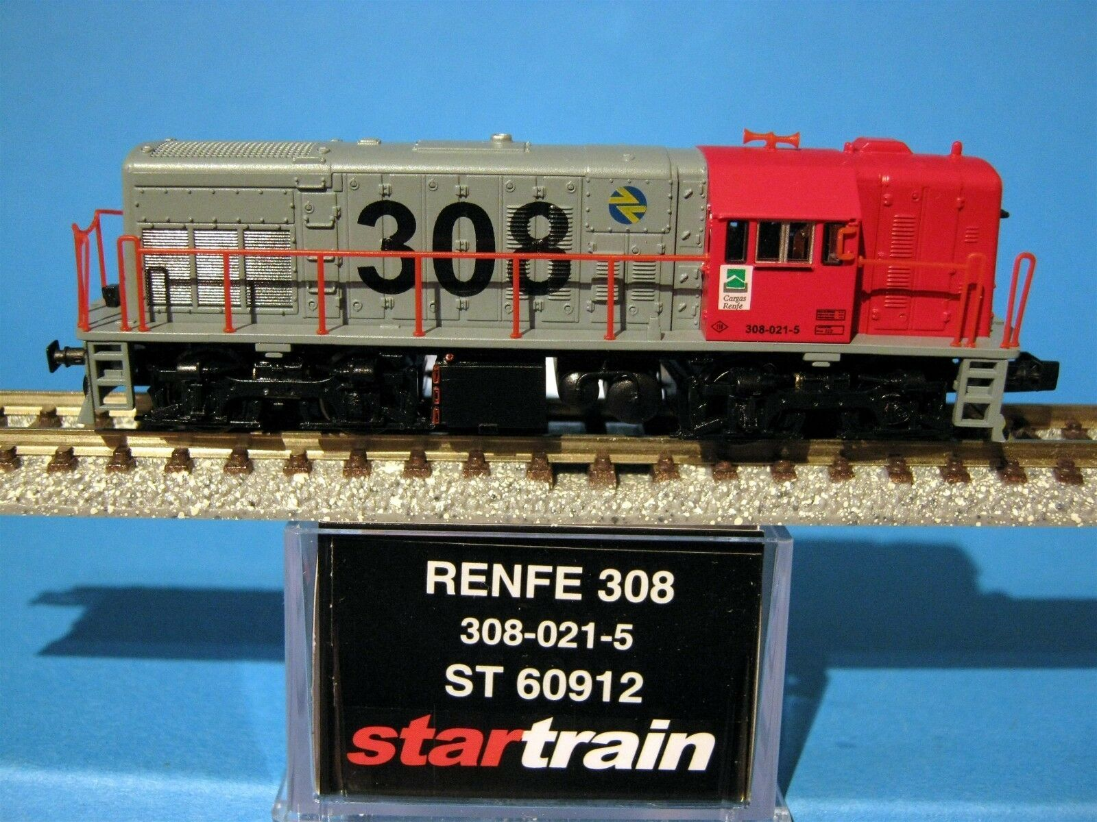 Start Rain 60912 RENFE 308 Diesellok 308-021-5 Red-Grey