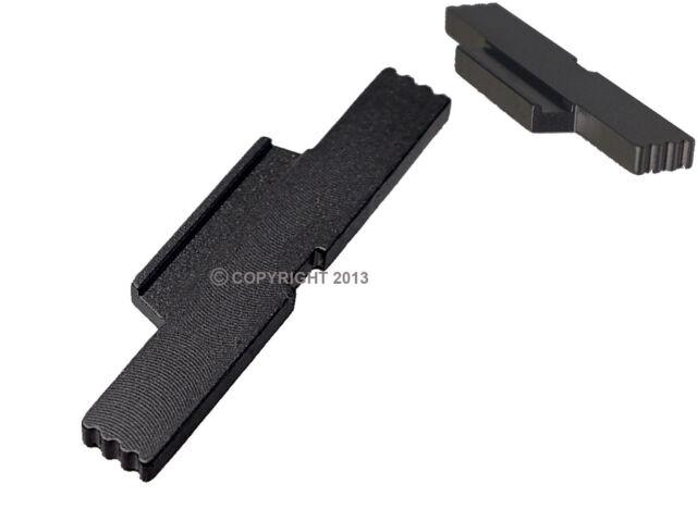 NDZ ESLL Black for Glock Gen 5 Extended Slide Lock Lever 19 19x