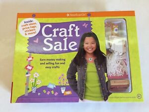 American Girl Doll Craft Sale Kit New Make Sell Fun Easy Crafts 9781593693442 Ebay