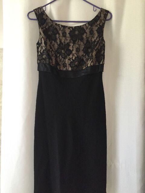 306fcfa079 Jones New York Macy s Black Lace Cocktail Dress Size 6 NWOT