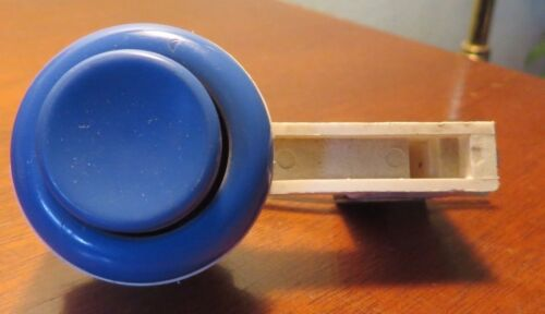 Vintage Blue Leafswitch Arcade Button