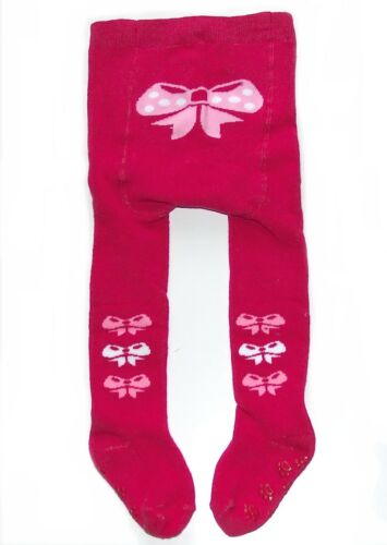 THERMO STRUMPFHOSE mit ABS-Noppen Frottee Winter warm Baby Kinder Baumwolle NEU