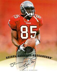 Donruss-NFL-Reidel-Anthony-Hand-Signed-8x10-034-Photo-Autograph-Football-Buccaneers