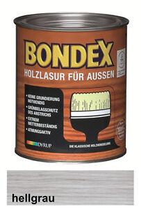 Bondex Holzlasur Fur Aussen 2 5 L Hellblau Grau Neu Ovp Wow Ebay