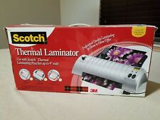 Scotch Thermal Laminator Tl901 Box Instructions Laminating Pouches Pre Owned