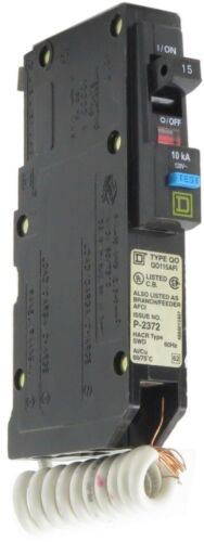 New Square D Ground Fault Circuit Breakers QO115AFIC QO120AFIC QO130GFI QO220SWN