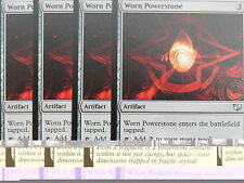 XXX 4x WORN POWERSTONE englisch commander 2015 (artifact) NM/MINT XXX XXX XXX
