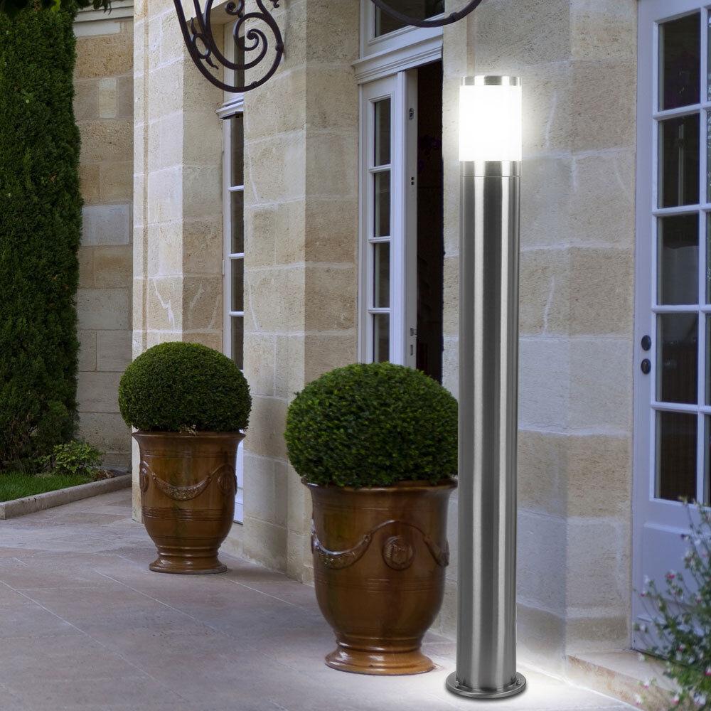 LED lámpara exterior jardín iluminación Design lámpara terraza acero inoxidable porche