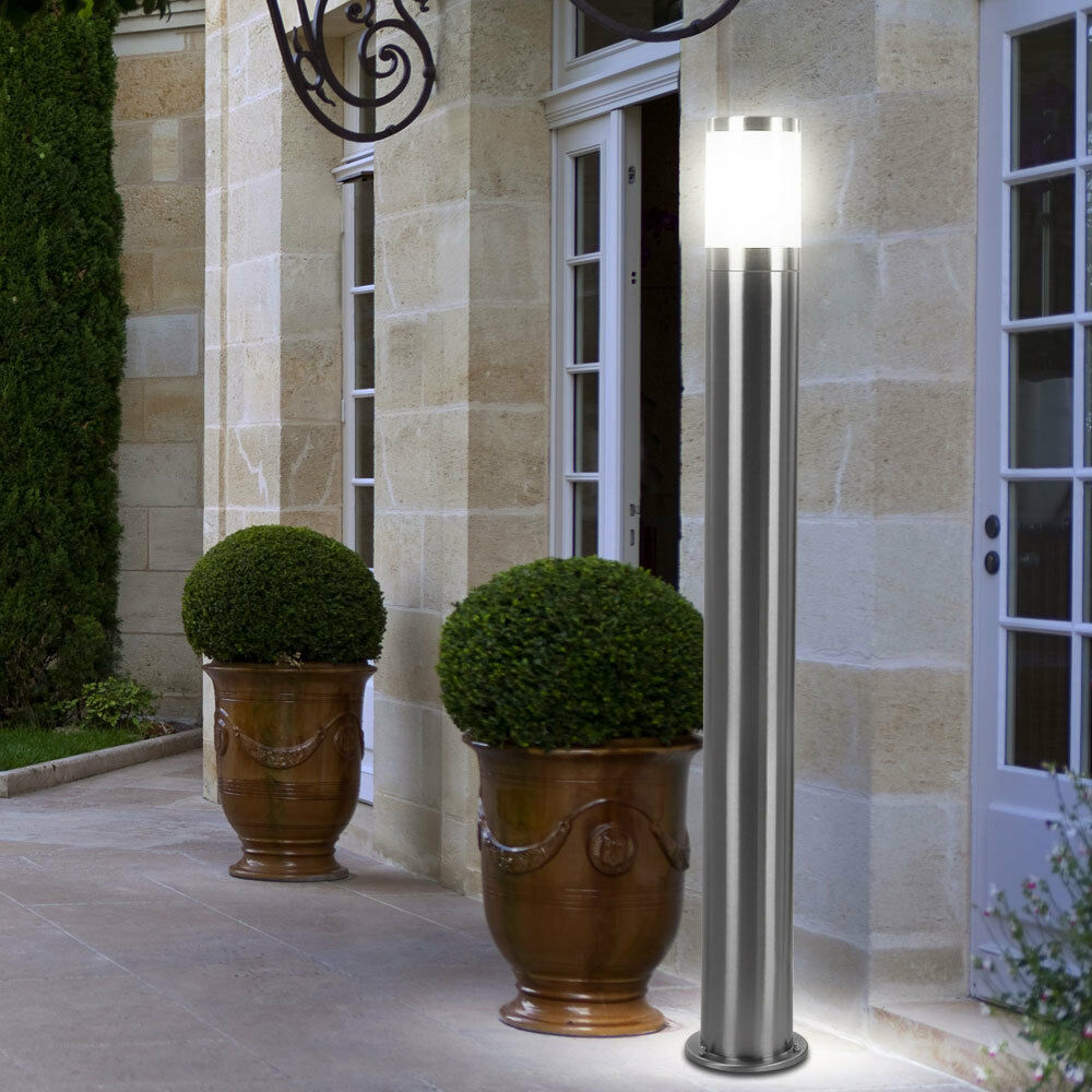 LED lámpara exterior jardín Design iluminación lámpara terraza acero inoxidable camino patio