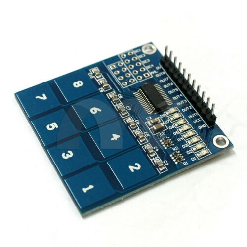 TTP226 8 Channel Digital Touch Sensor Module Capacitive Touch Switch Button