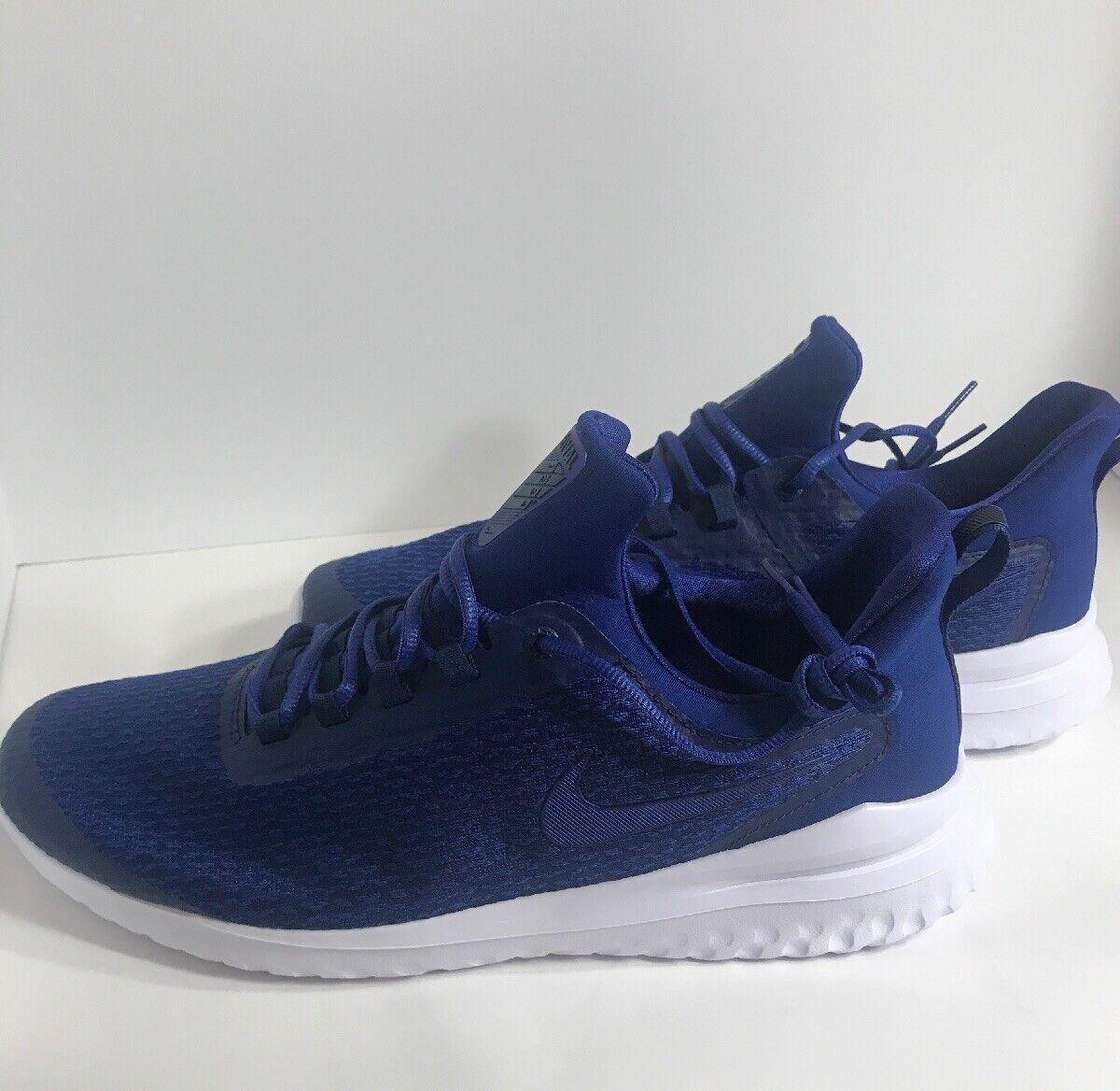 Neuf Sans Boîte Homme NIKE renouveler Rival Chaussures bleu deep royal Taille  14