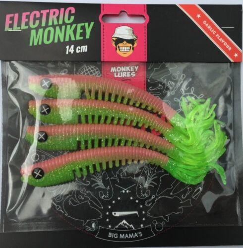 ALLE FARBEN Monkey Lures Hairy Lui 14cm Sofort Lieferbar! - Fransenköder
