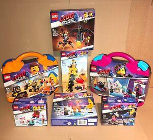 NEU-amp-VERSIEGELT-Lego-Movie-2-Bundle-70822-70823-70824-70832-70833-70836-70841