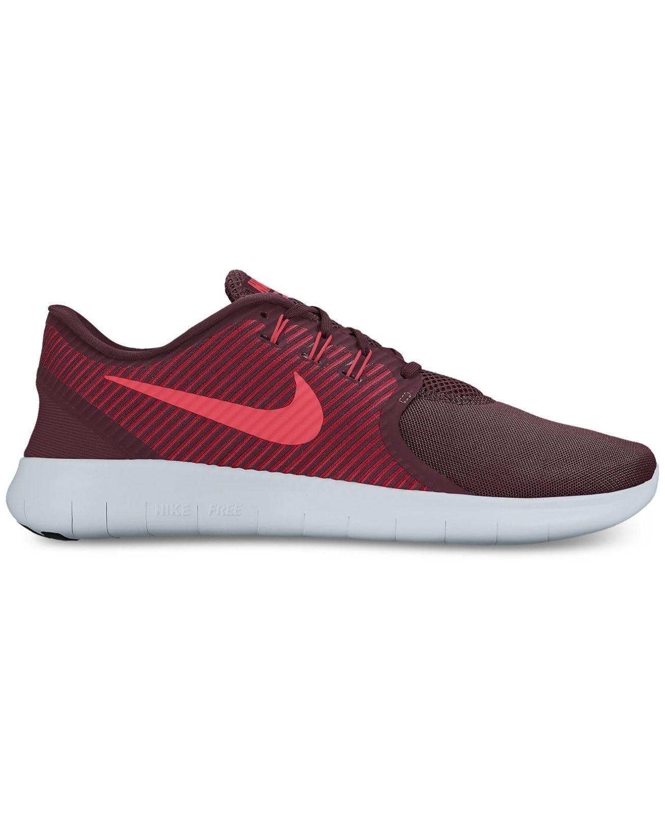 Nike Men's Sneakers Sneakers Sneakers Free RN Commuter shoes Night Maroon Ember Glow 831510600 86c6c9