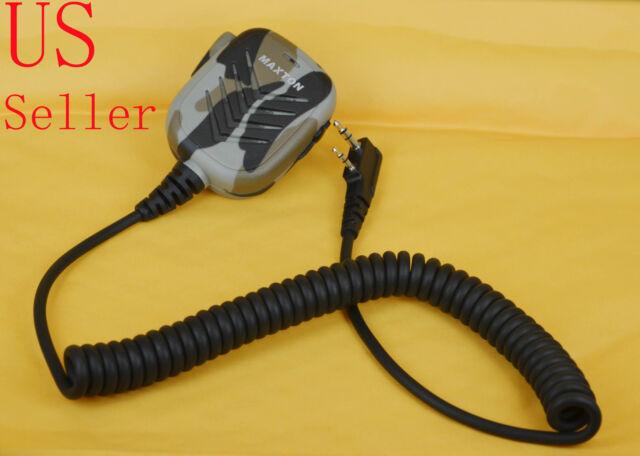 High Quality Hand Shoulder Mic Speaker For BAOFENG Radio UV82 UV8D UV6 A52 GT