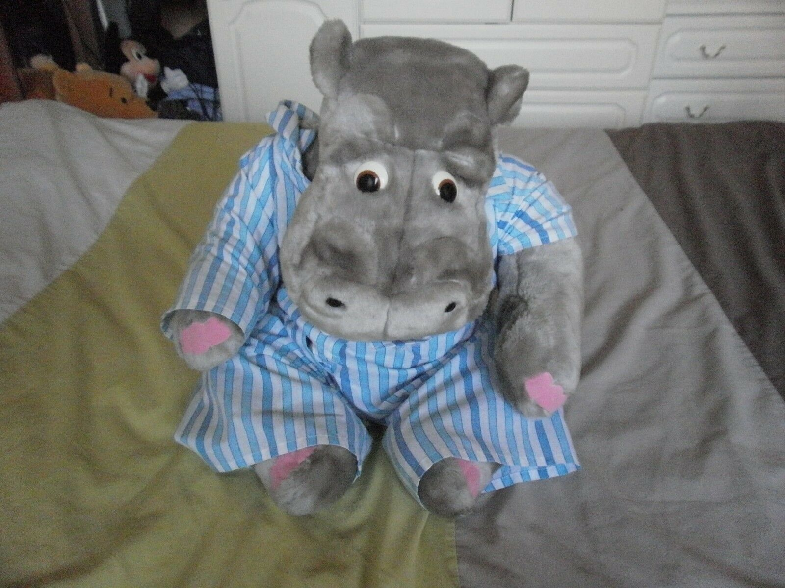 Official Tebro Toys Silentnight HIPPO soft cuddly toy large size