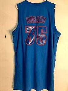 8228506f058 Adidas Swingman NBA Jersey OKLAHOMA CITY Thunder Kevin Durant Blue X ...