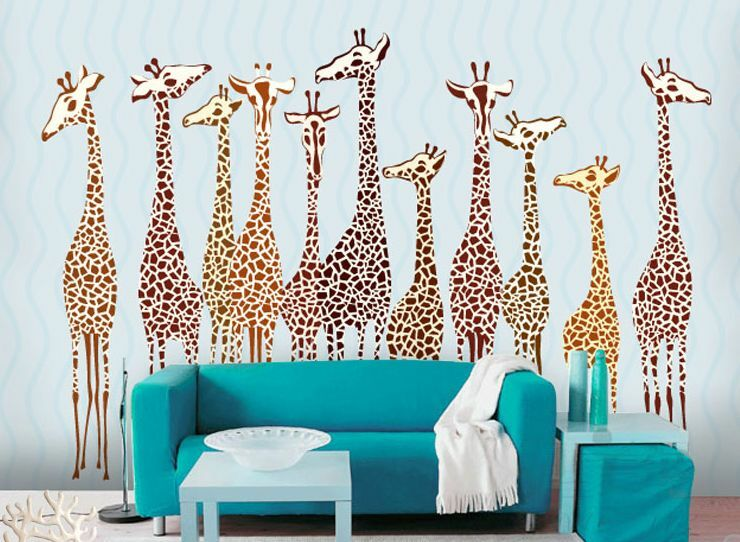 Huge 3D Deer Animals 3 Wall Paper Wall Print Print Print Decal Wall Deco Indoor wall Murals d22096