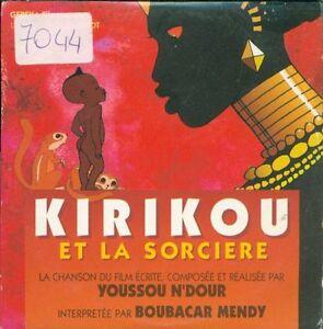 Youssou-N-039-Dour-Kirikou-Et-La-Sorciere-Promotional-Cardsleeve-Cd-Ottimo