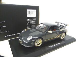 1-18-norev-Porsche-911-997-gt3-RS-gris-oro-nuevo-New