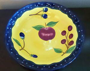 Laurie Gates Design Large 14 Saladserving Bowl Los Angeles Pottery