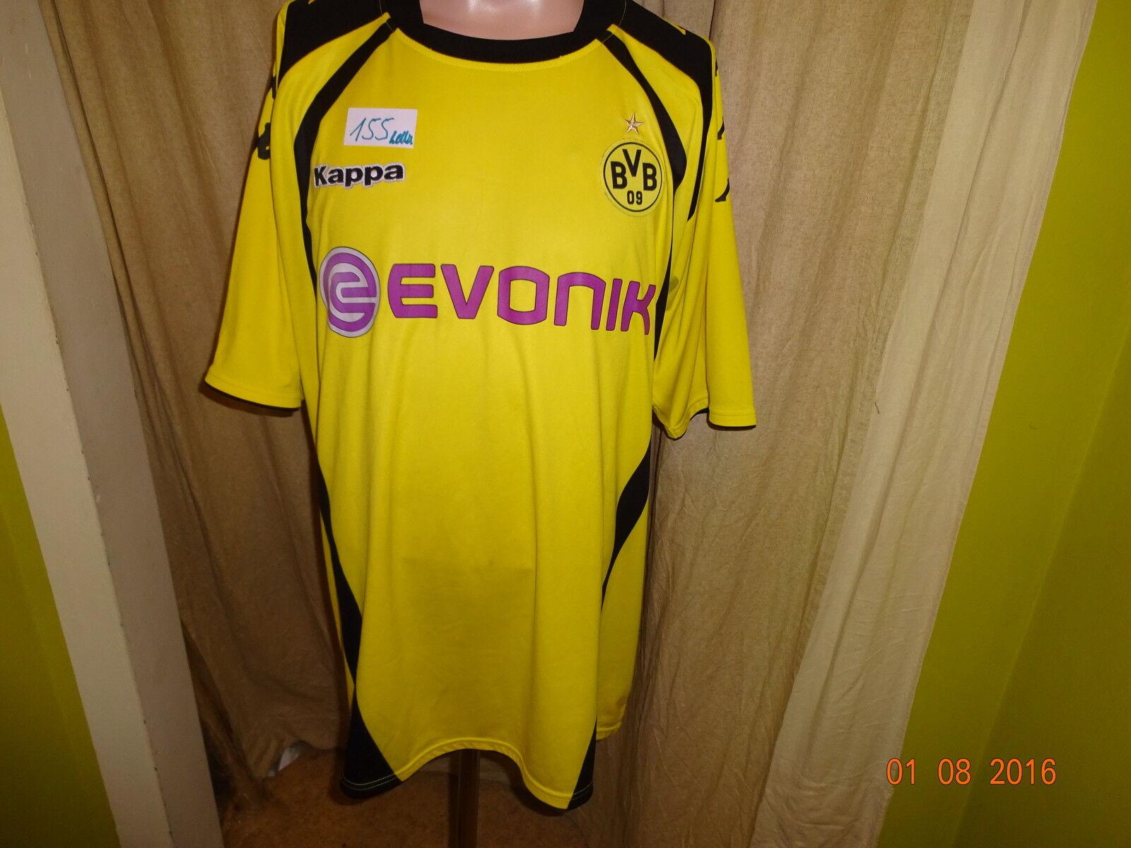 Borussia Dortmund Original Kappa Heim Trikot 2009 10  EVONIK  Gr.XXXL TOP