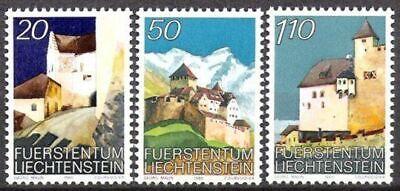 Postfrisch Reich Und PräChtig Briefmarken Briefmarken Liechtenstein Nr.896/98 ** Schloß Vaduz 1986