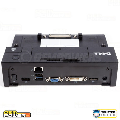 DELL E-PORT USB 3.0 DOCKING STATION PA-4E ADAPTER E5250 E5270 E5470 E5500 E6440