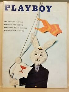 Playboy-July-1959-Very-Good-Condition-Free-Shipping-USA