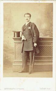 Photo-cdv-Levitsky-Juste-Leon-de-Noailles-Duc-de-Mouchy-vers-1865